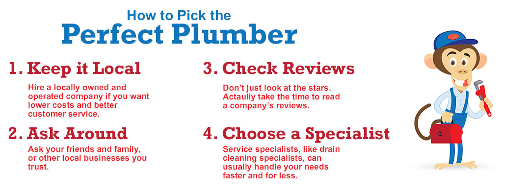 How to pick the perfect plumber